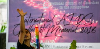 2018 International AIDS Candlelight Memorial