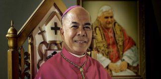 Archbishop Romulo Valles of Davao