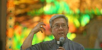 Bishop Jose Colin Bagaforo of Kidapawan, Caritas Philippines national director.