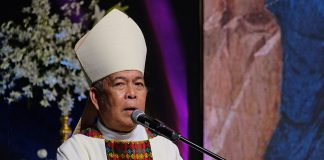Archbishop Romulo Valles of Davao, CBCP President. (Photo courtesy of CBCP News)
