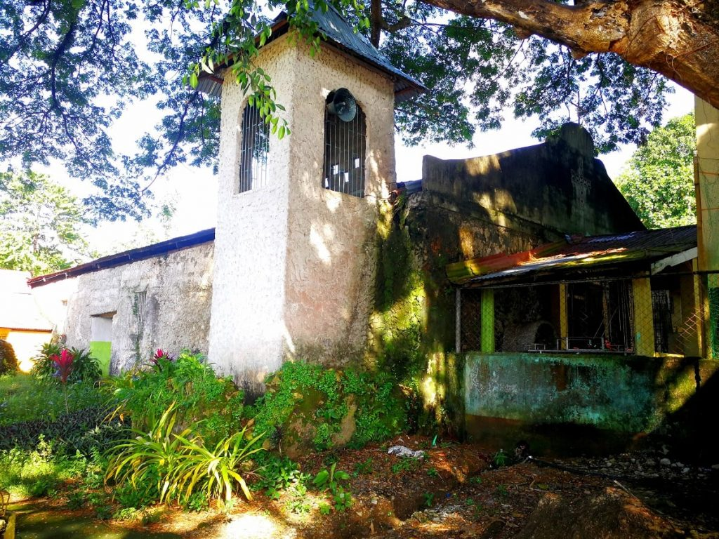 A remnant of an old Jesuit church in the village of Punta in Baybay, Leyte, where the young Pedro Calungsod supposedly served as a sacristan in the 1660s. (Photo courtesy of Father Dennis Cagantas of the Diocese of Maasin)
