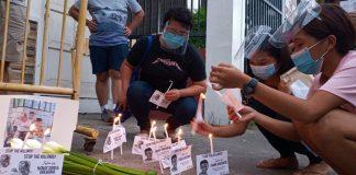 demonstration against killings