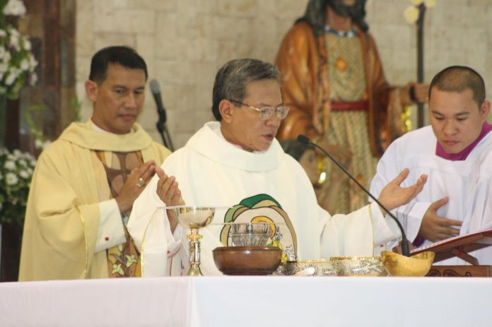 Archbishop Angelito Lampon, chairman of the CBCP Episcopal Commission on Ecumenical Affairs. (Photo from Davao Catholic Herald via CBCP News)