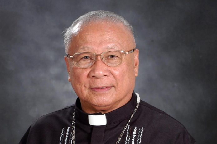 Bishop Emeritus Jose Sorra of Legazpi