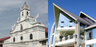 Bishop Dennis Villarojo of Malolos declares the San Miguel Arcangel Parish Church in Bulacan province's San Miguel town and the St. Andrew Kim Taegon Parish Church in Bocaue town's Lolomboy village, also in Bulacan, as new diocesan shrines. (Photo courtesy of the Diocese of Malolos via CBCP News)