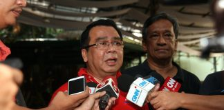 Lawyer Neri Colmenares (File photo by Robert Gines)