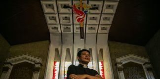 Father Christopher Ablon of the Philippine Independent Church